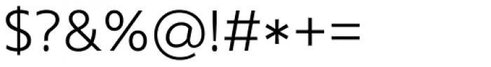 Core Sans N 35 Light Font OTHER CHARS