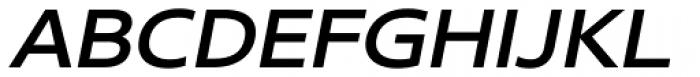 Core Sans N 53 Exp Medium Italic Font UPPERCASE
