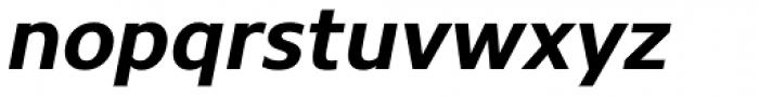 Core Sans N 65 Bold Italic Font LOWERCASE