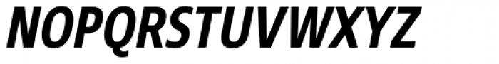 Core Sans N 67 Cn Bold Italic Font UPPERCASE