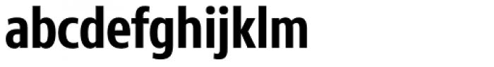 Core Sans N 67 Cn Bold Font LOWERCASE