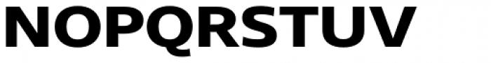 Core Sans N 73 Exp ExtraBold Font UPPERCASE