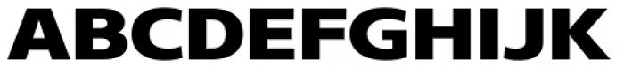 Core Sans N 83 Exp Heavy Font UPPERCASE