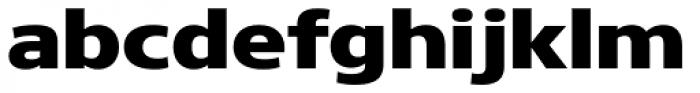 Core Sans N 83 Exp Heavy Font LOWERCASE