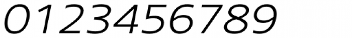 Core Sans N SC 33 Exp Light Italic Font OTHER CHARS