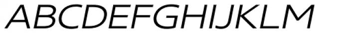 Core Sans N SC 33 Exp Light Italic Font LOWERCASE