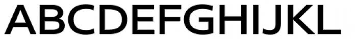 Core Sans N SC 53 Exp Medium Font UPPERCASE