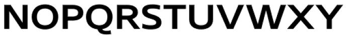 Core Sans N SC 53 Exp Medium Font LOWERCASE