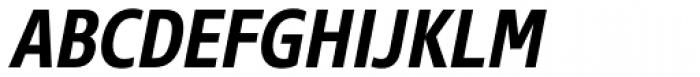 Core Sans N SC 67 Cn Bold Italic Font UPPERCASE