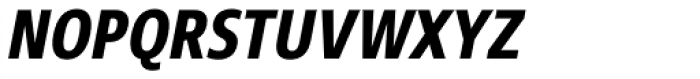 Core Sans N SC 67 Cn Bold Italic Font LOWERCASE