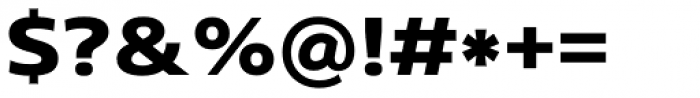 Core Sans N SC 73 Exp ExtraBold Font OTHER CHARS