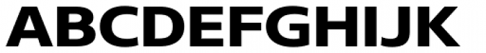 Core Sans N SC 73 Exp ExtraBold Font UPPERCASE