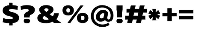 Core Sans N SC 83 Exp Heavy Font OTHER CHARS