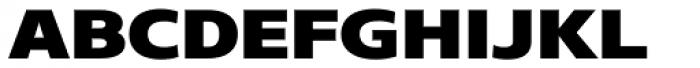 Core Sans N SC 83 Exp Heavy Font LOWERCASE