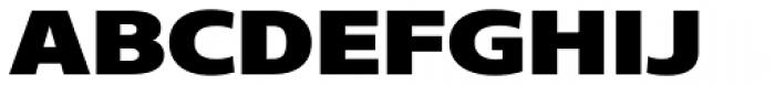 Core Sans N SC 93 Exp Black Font UPPERCASE