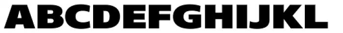 Core Sans N SC 93 Exp Black Font LOWERCASE