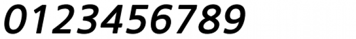 Core Sans NR 55 Medium Italic Font OTHER CHARS