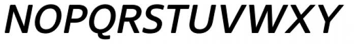 Core Sans NR 55 Medium Italic Font UPPERCASE