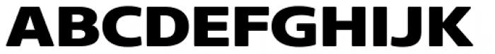Core Sans NR 83 Ext Heavy Font UPPERCASE