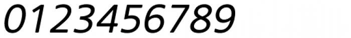 Core Sans NR SC 45 Italic Font OTHER CHARS
