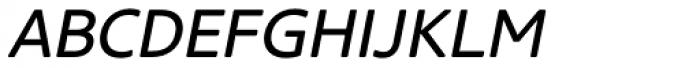 Core Sans NR SC 45 Italic Font LOWERCASE