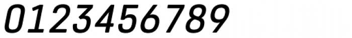 Core Sans R 45 Medium Italic Font OTHER CHARS