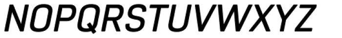 Core Sans R 45 Medium Italic Font UPPERCASE