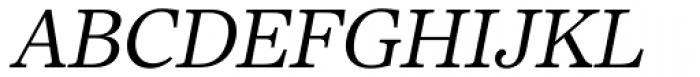 Core Serif N 35 Regular Italic Font UPPERCASE