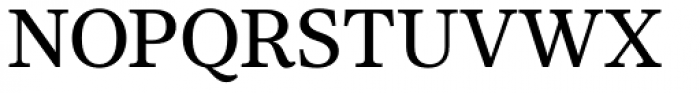 Core Serif N 45 Medium Font UPPERCASE