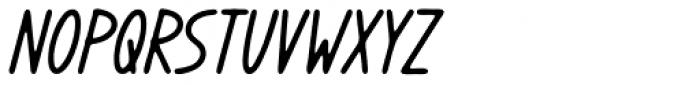 Coreopsis Bold Italic Font UPPERCASE