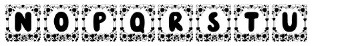 Cori Valentine Font UPPERCASE