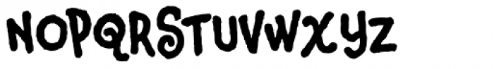 Corndog Clean Font UPPERCASE