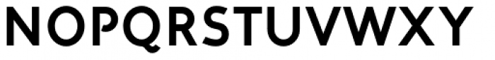 Corner A Bold Font UPPERCASE