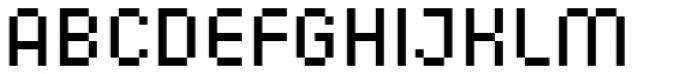 Corner A Regular Font UPPERCASE