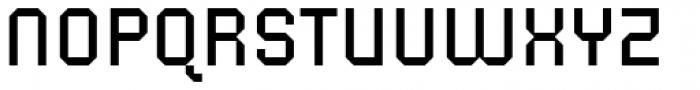 Corner B Regular Font UPPERCASE