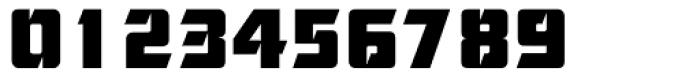 Cornered Font OTHER CHARS
