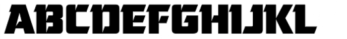 Cornered Font UPPERCASE
