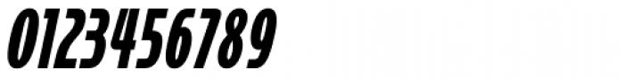 Cornerstone Black Italic Font OTHER CHARS