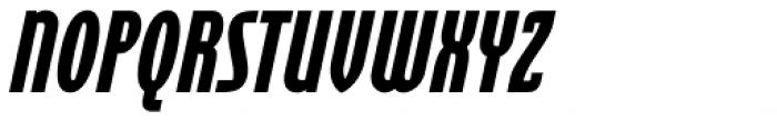 Cornerstone Black Italic Font UPPERCASE