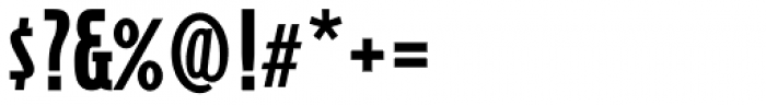 Cornerstone Black Font OTHER CHARS