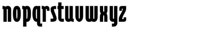 Cornerstone Black Font LOWERCASE