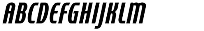 Cornerstone Pro Black Italic Font UPPERCASE