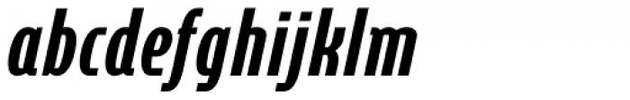 Cornerstone Pro Black Italic Font LOWERCASE
