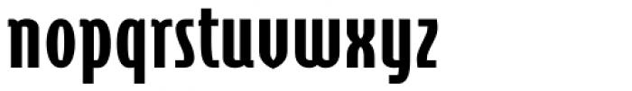 Cornerstone Pro Black Font LOWERCASE