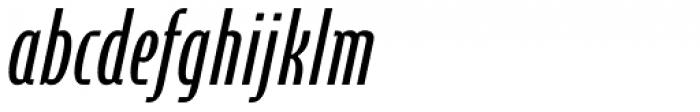 Cornerstone Pro Italic Font LOWERCASE