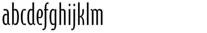 Cornerstone Pro Light Font LOWERCASE