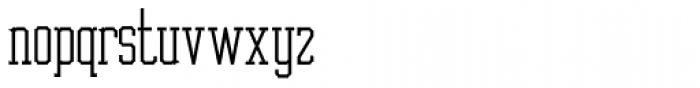 Cornfield JNL Font LOWERCASE