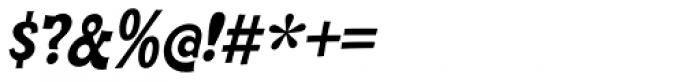 Cornpile ExtraBold Italic Font OTHER CHARS