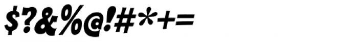 Cornpile Heavy Italic Font OTHER CHARS