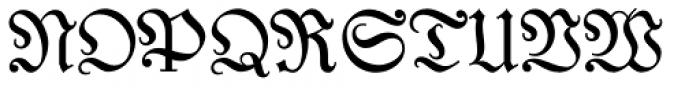 Coroner Font UPPERCASE